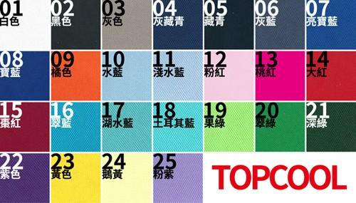 團體服的吸濕排汗衣服,遠翁紡織台灣製造,顏色介紹